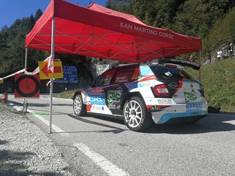 Jordan Brocchi, Sofia D'Ambrosio (Skoda Fabia R5 #20, WRT), CAMPIONATO ITALIANO WRC